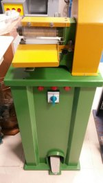 Deri Sırım Kesim Makinası-Biye Kesim Makinası- 6500  Tl