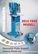 Pullu Kapsül Çakma Makinası Otomatik