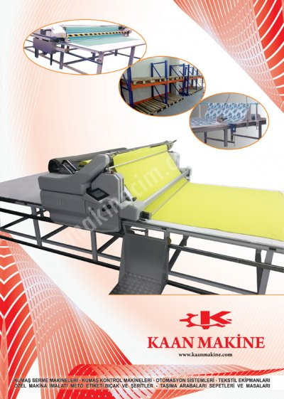 Full Otomatik Kumaş Serme Full Oromatik Pastal Serme Makinaları