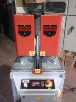 SingleH-515 Corner Welding Machine Double Plate Movement 0.2 Welding