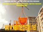Profesyonel Kule Vinc Forklift Beton Micir Harc Moloz Tasima Dokme Kovasi