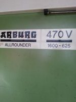 Plastik Enjeksiyon Makinesi Arburg 160T 470  1600-625 Annee 1992