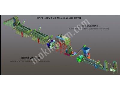 Satılık Sıfır Granül Hattı Fiyatları İstanbul granül makinesi,extruder,granül hattı