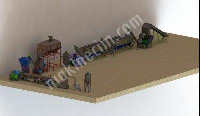 Satılık Sıfır Granül Hattı Fiyatları  granül makinesi,extruder,granül hattı