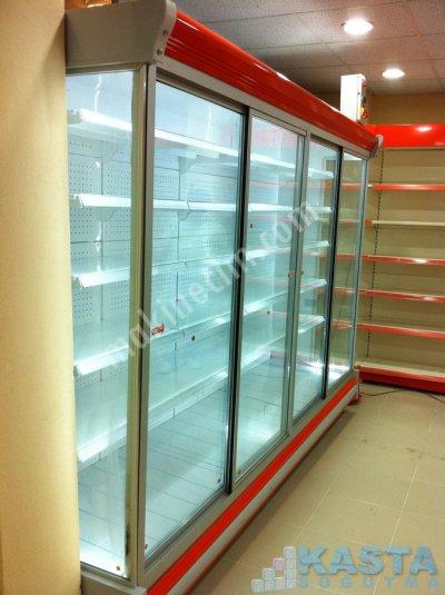 Üreticiden Sıfır Sütlük Dolap Reyon Dolap Şarküteri Dolap Market Dolap