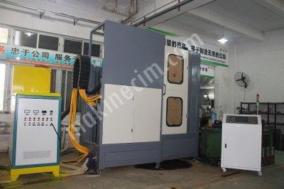 100 Kw Dikey İndüksiyon Yüzey Sertleştirme Makinası