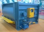 beton santrali  TWIN SHAFT mixer  3 m3