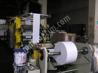 Kağıt Torba Makinesi - 4 Renk