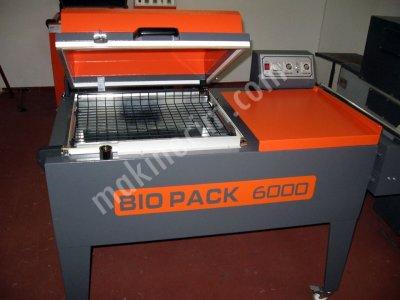 Shrink Makinası Bıopack 6000 St (2 Yıl Garantili)