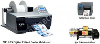 Dijital Etiket Baskı Makinesi