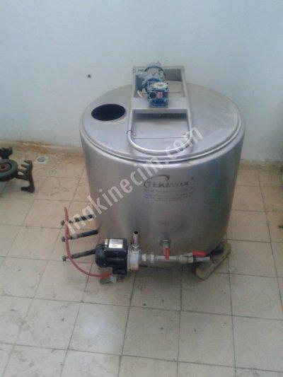 Süt Kaynatma Ve Ve Soğutma Tankı