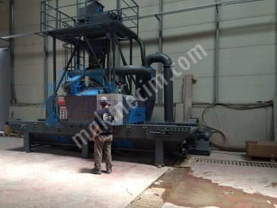 Mermer Kumlama Makinesi - Belt Conveyor Shot Blasting Machines