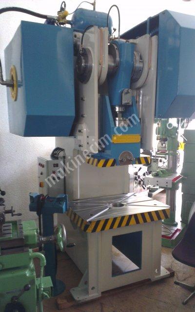 Satılık Sıfır 100 Ton Hava Kavramalı Eksantrik Pres - 2018 Model Fiyatları İstanbul 100 ton çelik gövde eksantrik pres,100 ton hava kavramalı pres