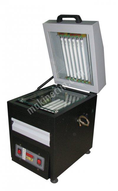 Satılık Sıfır Vakumlu Kaşe Makinası - 14x21 - 12 Lambalı Fiyatları İzmir kaşe makinası