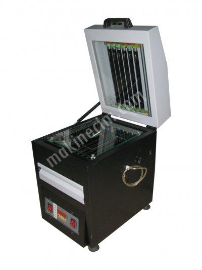 Satılık Sıfır Vakumlu Kaşe Makinası - 20x30 - 12 Lambalı Fiyatları İzmir kaşe makinası