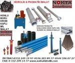 Forklift Hidrolik Boru, Forklift Kromlu Mil, İndiksiyonlu Miller, Rod Borular, Rod Kromlu Miller,
