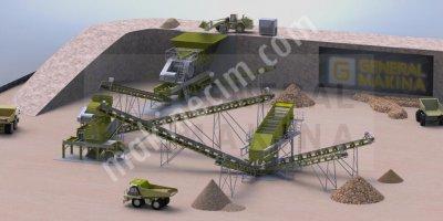Satılık Taş Maden Kırma Zenginleştirme Tesisleri General Maki̇na
