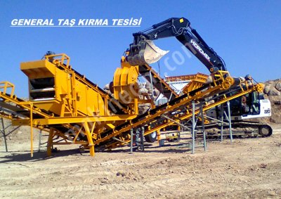 Satılık Maden Kırma Tesisleri General Maki̇na