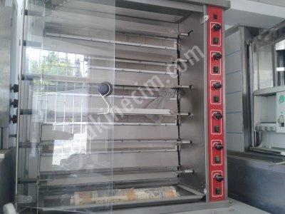 Satılık Sıfır PİLİÇ ÇEVİRME MAKİNASI Fiyatları İstanbul piliç,çevirme,pişirme,altılı
