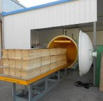 8M3 HIGH FREQUENCY VACUUM WOOD DRYER
