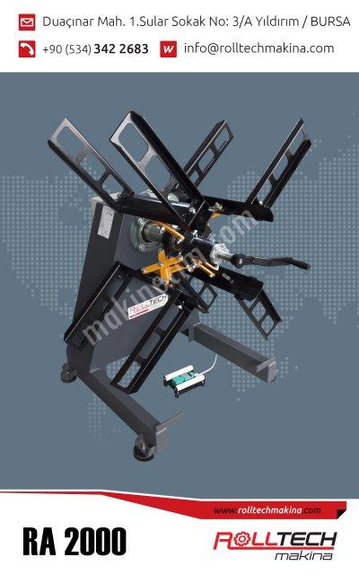 Rulo Açıcı   Servo Sürücü   Rollform   Destek Sacı   Alçı Köşe Sacı Makinaları