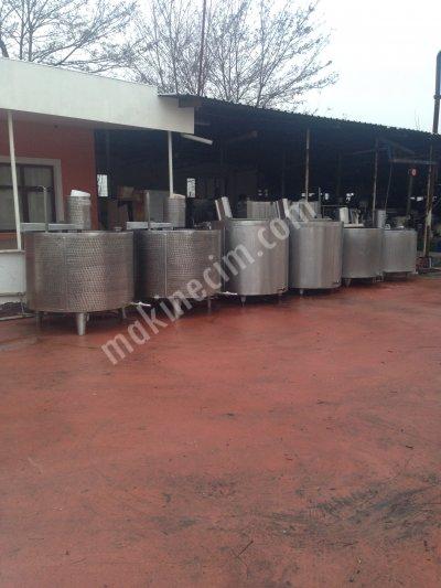 Satılık 2. El Satılık mandıra makina ve ekipmanları Fiyatları Denizli süt,mandıra,peynir,tereyağ,krema,kaşar peyniri, buhar kazanı süt tank, paslanmaz tank