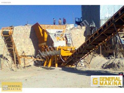 General Makina Satılık Taş Maden Kırma Eleme Stoklama Tesisi