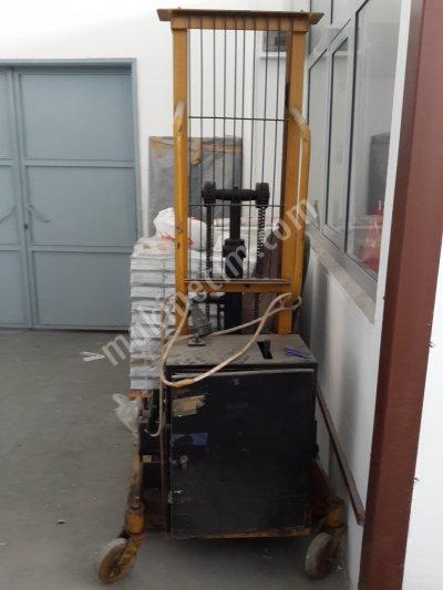 Pastal Makinası Top Kaldırma Vinci