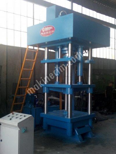 Hydraulic Press ..300 Ton  Tuz Basma Presi ( Yalama Taşı Basma Presi )