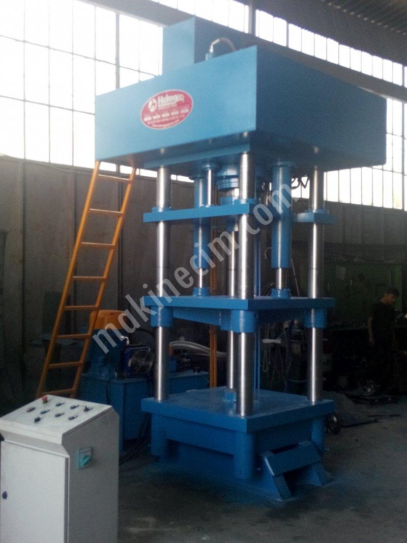 Hydraulic Press   300 Ton Tuz Basma Presi ( yalama taşı basma presi )