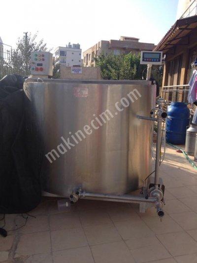 Süt Soğutma Tankı(Fiyat Düştü Yetişen Alır)