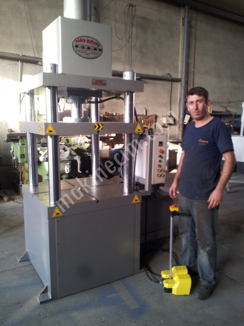100 TONS HYDRAULIC H TIPE PRESS For Sale New Price : Ask For