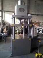 100 TONS HYDRAULIC H TIPE PRESS