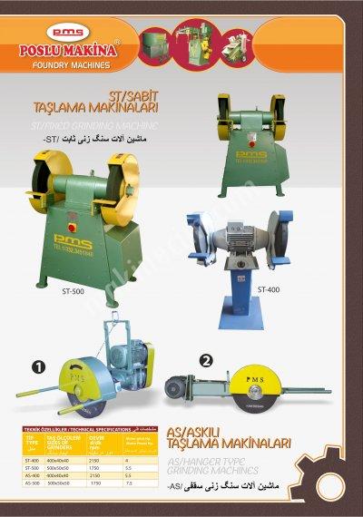 Askılı Ve Sabit Taşlama Makinası