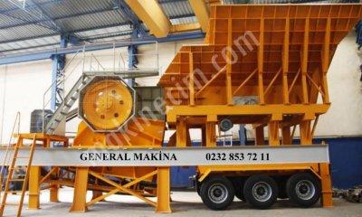 Satılık Seyyar Pdk Kırma Eleme Tesisleri General Makina