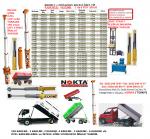 Satılık Römork Silindir, Satılık Römork Pompası, İkili Damper Lift, 25 Ton Römork Lift İmalat, 16