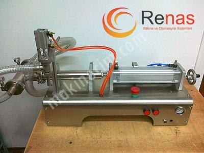 Satılık Sıfır Renas Makina Motor Yağı Dolum Makinası Fiyatları İstanbul sıvı dolum,sıvı dolum makinası,dolum makinası,dolum makinesi