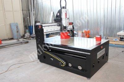 3+1 Eksen Ahşap Alüminyum İşleme Cnc Router Robotiksan