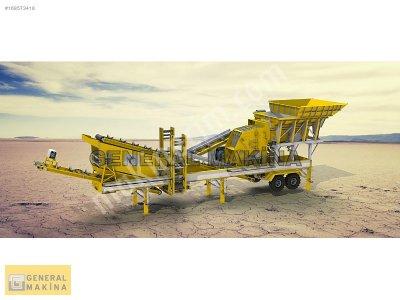 Satılık Kömür Kırma taş Kırma eleme Tesisi 7000   General Makina