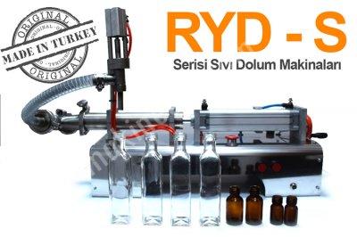 Ryd-S300 Yarı Otomatik Tek Nozullu Akışkan Ürün Dolum Makinası 20-300 Ml