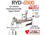 Yarı Otomatik Sıvı Dolum Makinası 50-500 ML (YERLİ ÜRETİM)