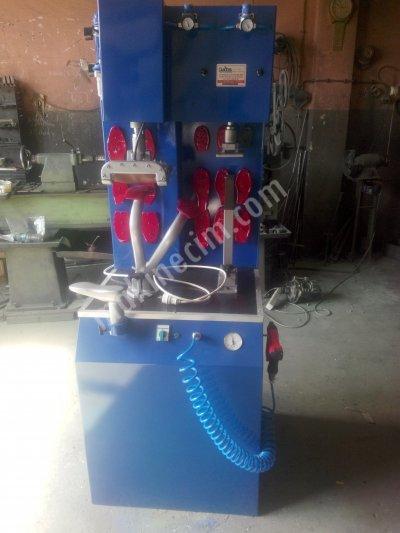 Satılık Sıfır Avrupa Sistem Pençe Yapıştırma Presi Fiyatları  pençe presi akyol makina  sanayi yapıştırma presi lostra makinaları ayakkabı tamirci makinaları