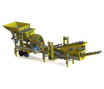 Satılık Seyyar Maden Kırma Tesisleri   General Makina