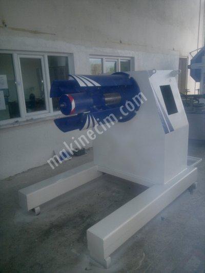 Pres - Servo Sürücü/ Doğrultucu - Rulo Açıcı - Profil Makinaları - Hak Makina