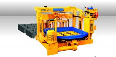 Yumurtlayan Briket Makinası   Vess 3.1   Yarı Otomatik