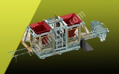 Satılık Briket Makinası - Parke Makinası - Bims Makinası