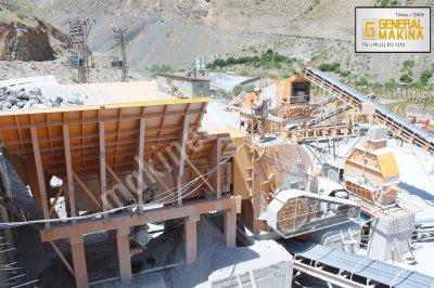 Satılık Maden Kırma Eleme Tesisi   General Makina 55