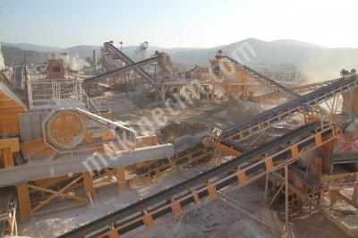 Satılık Maden Kırma Eleme Tesisi   General Makina 66
