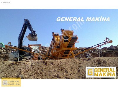 Satılık Maden Kırma Eleme Tesisi   General Makina 99