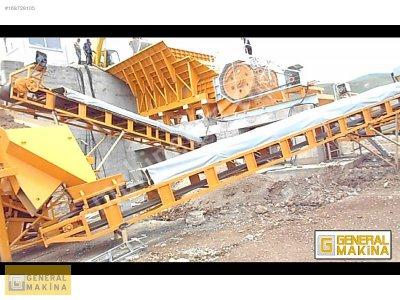Satılık Konkasör Makinaları maden Kırıcılar   General Makina 105